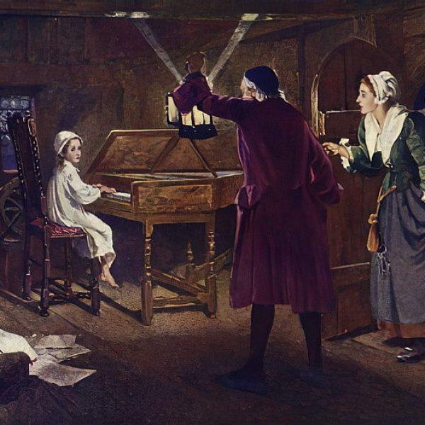 Margaret_Isabel_Dicksee_-_The_child_Handel_-_(MeisterDrucke-140135)